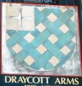 Draycott Arms pub-sign